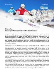 Ski amadé, Oostenrijks ultieme skiplezier op 860 pistekilometers