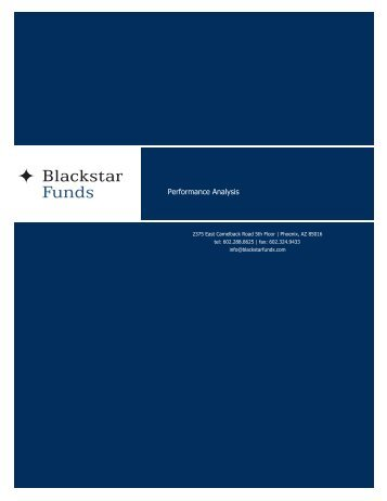 Blackstar Funds - Trend Following