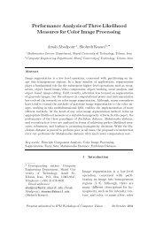 Performance Analysis of Three Likelihood ... - Arash Abadpour