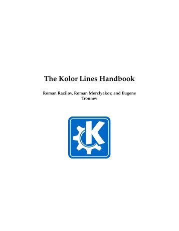 The Kolor Lines Handbook - So.Di.Linux
