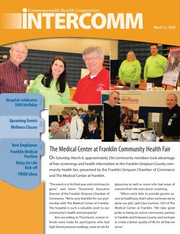 CHC Intercomm 3-17-10 - The Medical Center