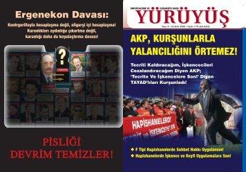 AKP, KURfiUNLARLA YALANCILI⁄INI ÖRTEMEZ! - Yürüyüş