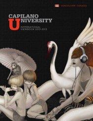 Capilano University - EuroAsia Consulting