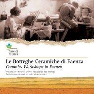 depliant Le botteghe ceramiche di Faenza - Comune di Faenza