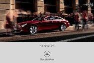 Download CLS-Class catalogue (PDF) - Mercedes-Benz Brunei