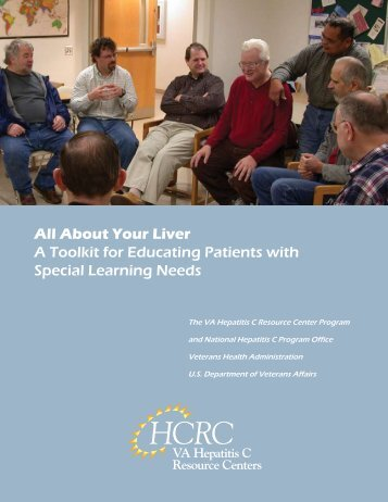 All About Your Liver A Toolkit for Educating Patients ... - Hepatitis C