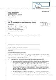 Vertrag über die Weitergabe von Daten des pairfam-Projekts ...