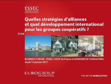 Téléchargez les résultats de l'étude - Eurogroup Consulting