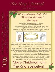 Merry Christmas from The King's Jewelers!