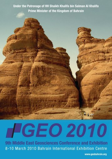 9th Middle East Geosciences Conference and Exhibition - Allworld ...