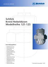 Modellreihe 121-123 - Düsen-Schlick GmbH