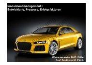 Innovationsmanagement I