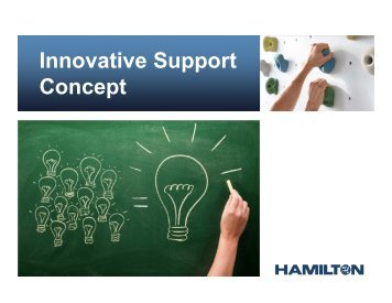 Innovative Support Concept - Hamilton Robotics