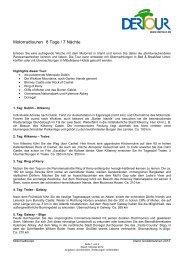 Motorradtouren 8 Tage / 7 Nächte - Irish-net