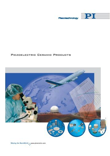 Catalog: Piezoelectric Materials and Components ... - PI Ceramic