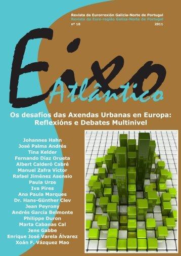 Revista da Eurorrexión Galicia-Norte de Portugal nº18 - Eixo Atlantico