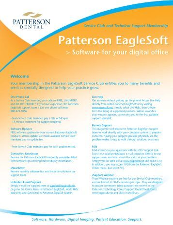 patterson eaglesoft 16 download