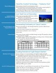 Leading Selling Features - LSI Industries Inc. - Page 2