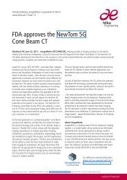 FDA approves the NewTom 5G Cone Beam CT - hillus