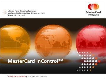 Download Presentation - MasterCard Events
