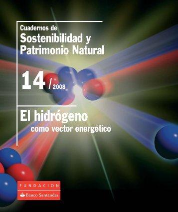 El hidrógeno como vector energético - Fundación Banco Santander
