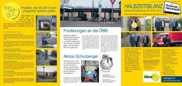 HALBZEITBILANZ - Gramatneusiedl - Volkspartei Niederösterreich