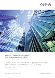 Commerciële brochure COM4plus - GEA Happel Belgium