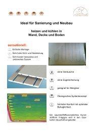 Ideal für Sanierung und Neubau - Comfort clima