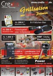 5 l Fäßchen Bier - Credia GmbH