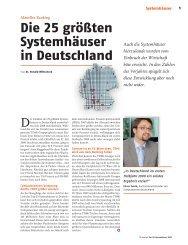 Die 25 größten Systemhäuser in Deutschland - ChannelPartner.de