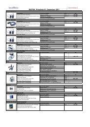 Kopie von Isotek Preisliste - Digital Unterhaltungs AG