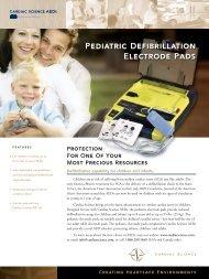 Pediatric Electrodes Brochure - Cardiac Science