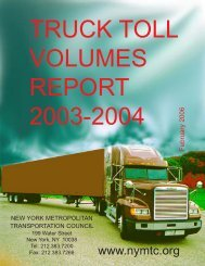 Truck Toll Volume Report - New York Metropolitan Transportation ...