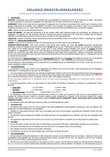 Wedstrijdreglement (pdf) - ipms belgium