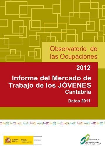 Jóvenes Cantabria Datos 2011 (Archivo pdf) - COIE