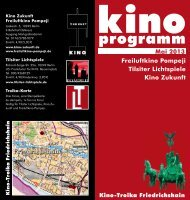 Flyer Mai 2013 - Kino Zukunft