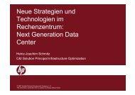 Neue Strategien und Technologien im Rechenzentrum - Oev ...