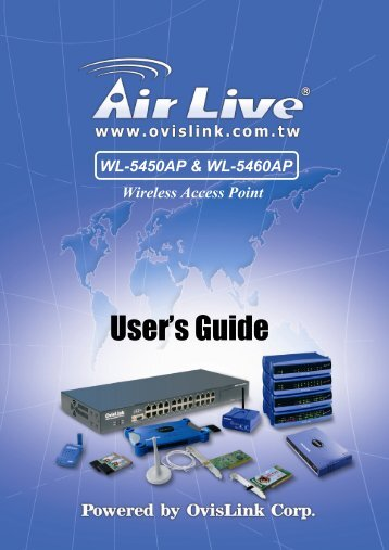 AirLive WL-5460AP Manual - i4wifi as