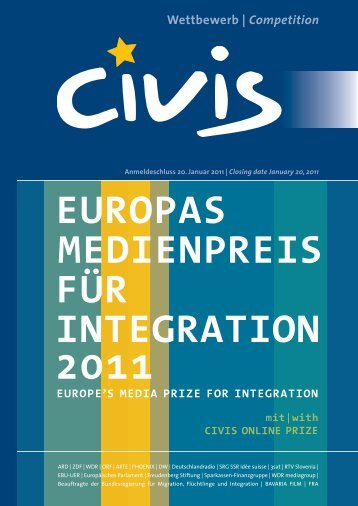 EUROPAS MEDIENPREIS FÜR INTEGRATION 2011
