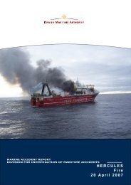 Endelig engelsk rapport HERCULES - Danish Maritime Authority