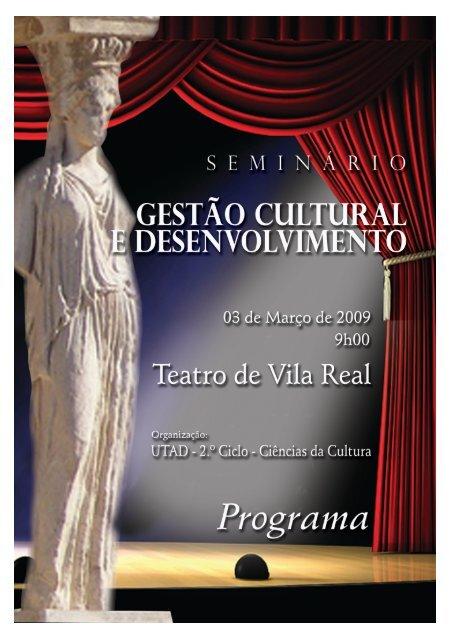 Ver programa - Direcção Regional de Cultura do Norte