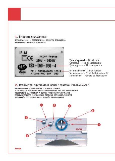 Notice Regulation Timerprog Cyber Radiateur