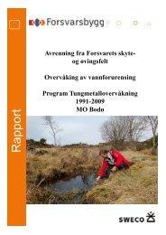 pport Rapport - Forsvarsbygg