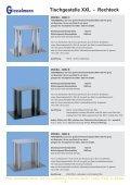 Tischgestelle XXL - Franz Giesselmann Metallwaren GmbH & Co. KG - Seite 3