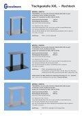 Tischgestelle XXL - Franz Giesselmann Metallwaren GmbH & Co. KG - Seite 5