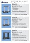 Tischgestelle XXL - Franz Giesselmann Metallwaren GmbH & Co. KG - Seite 7