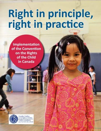 CCRC report on rights of children in Canada - Canadian Coalition ...