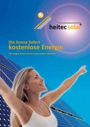 Imagebroschuere - HeitecSolar