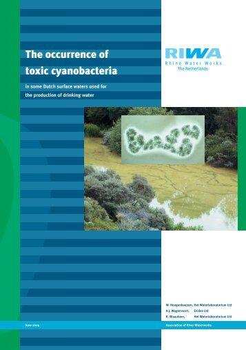 The occurrence of toxic cyanobacteria - Riwa