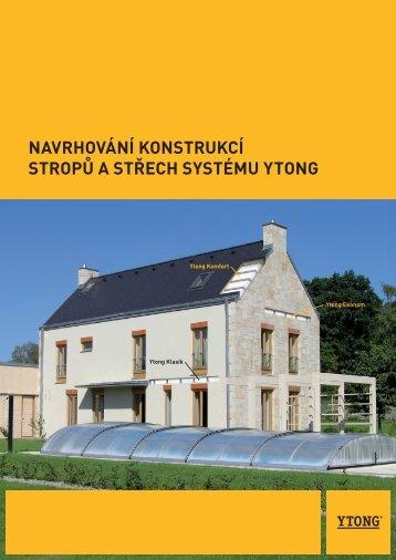 KonstruKční systém ytong pro stropy a střechy